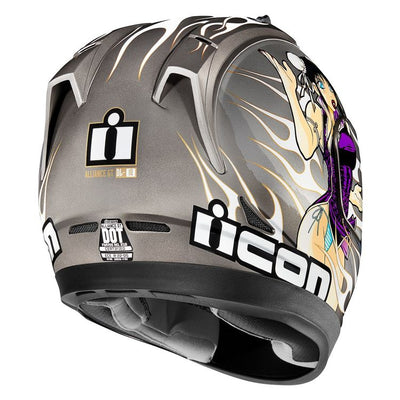 ICON HELMET ALGT DL