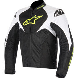 ALPINESTARS JACKET T-JAWS B/W/Y