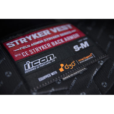 ICON VEST STRYKER BLACK