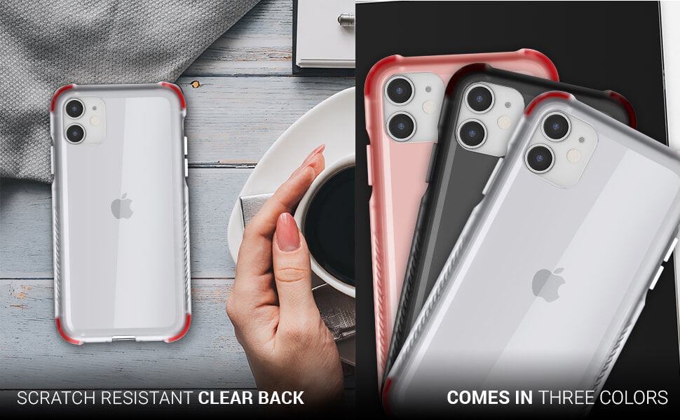 iPhone 11 See Thru Crystal Clear Case