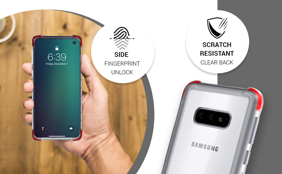Galaxy S10e Clear Protective Case