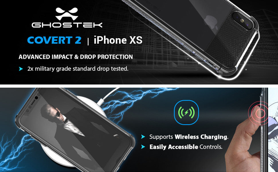 iPhone XS Protective Shockproof Phone Case