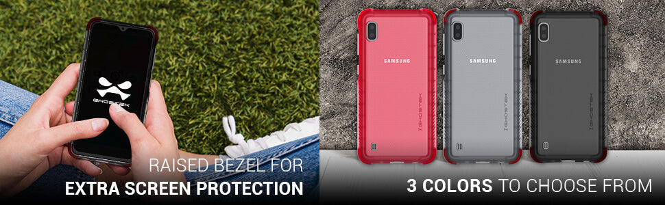 Galaxy A10 Clear Protective Phone Case