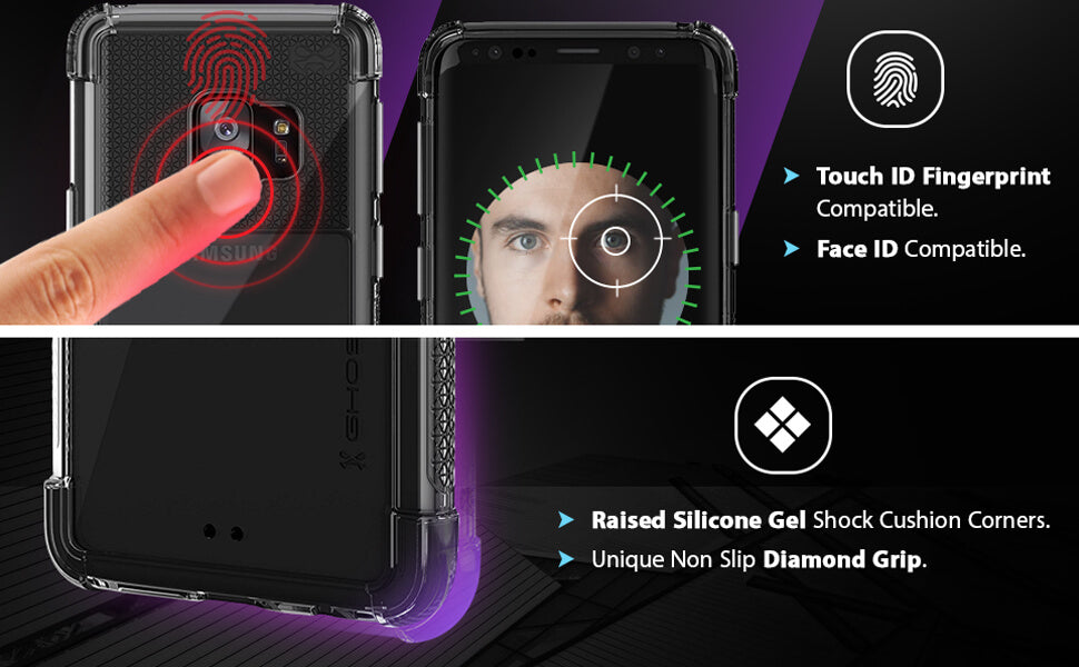 Covert Galaxy S9 Clear Protective Phone Case