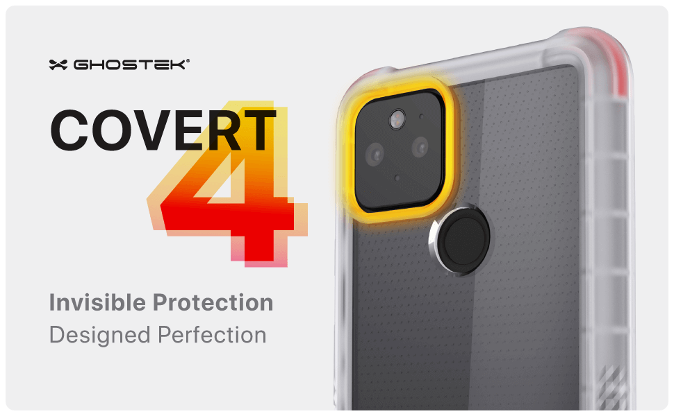Pixel 5 Clear Protective Phone Case