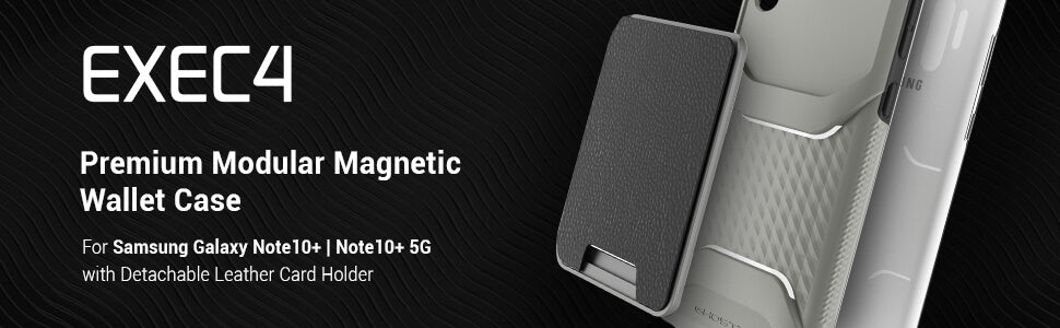 Galaxy Note 10 Plus Magnetic Wallet Case