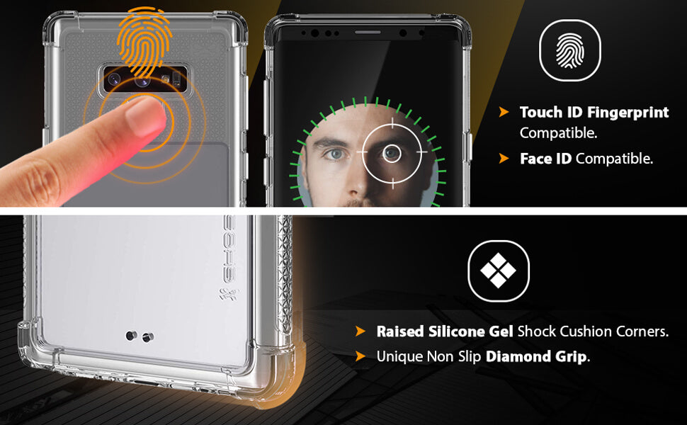 Galaxy Note 9 Clear Protective Phone Case