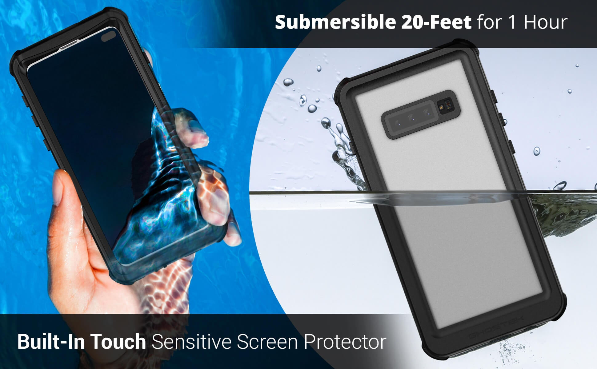 Galaxy S10 Plus Waterproof Phone Case