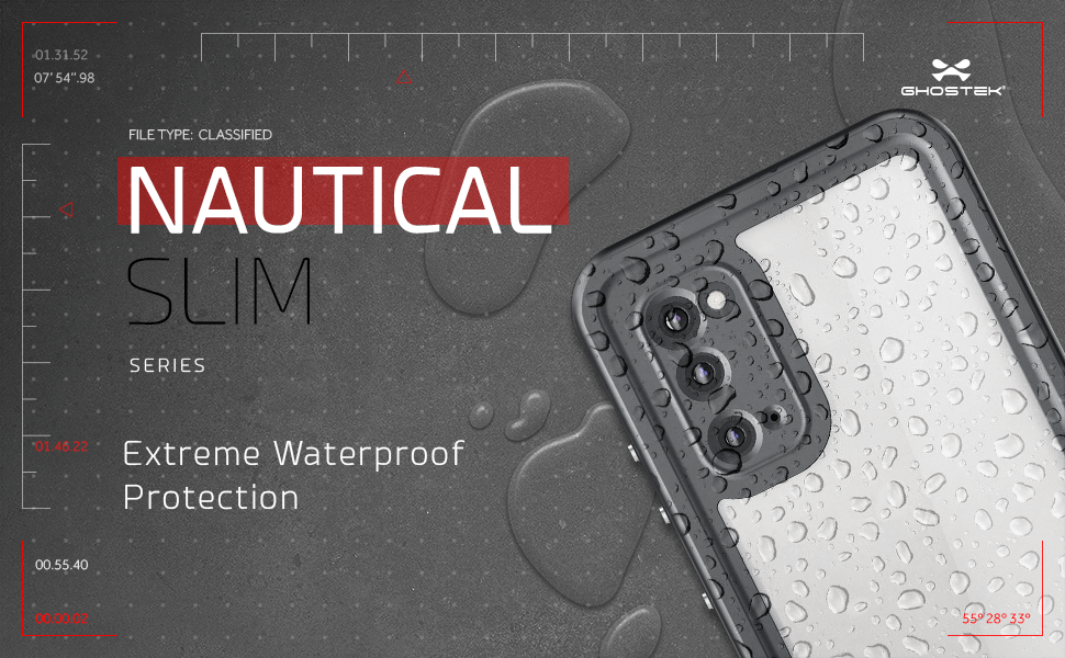 S20 Waterproof Case with Screen Protector