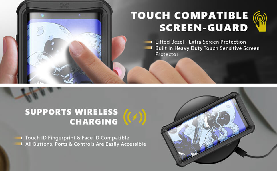 Galaxy S8 Plus Waterproof Phone Case