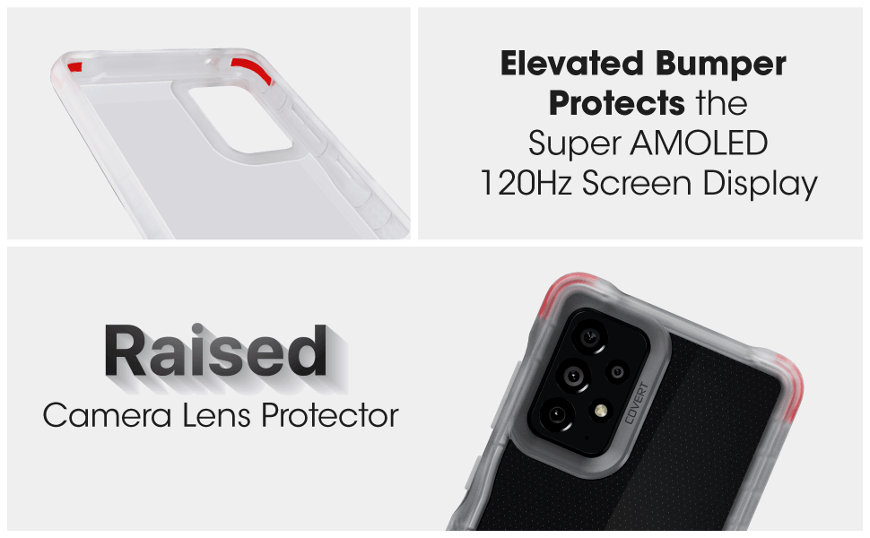 Covert Galaxy A72 5G Protective Case