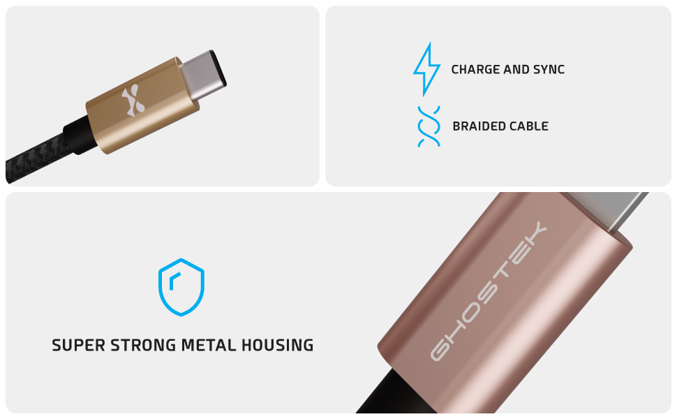 Lightning to Type-C Durable Cables