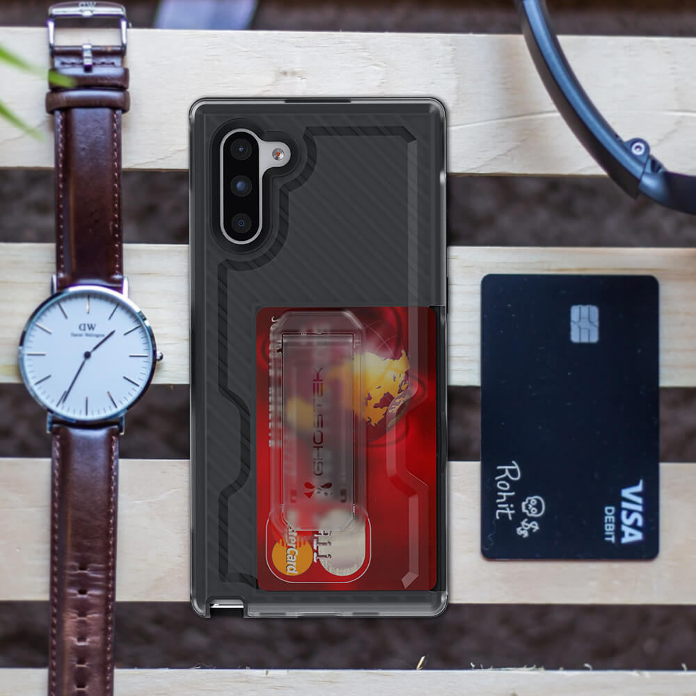 Galaxy Note 10 Plus Holster Case With Card Pocket