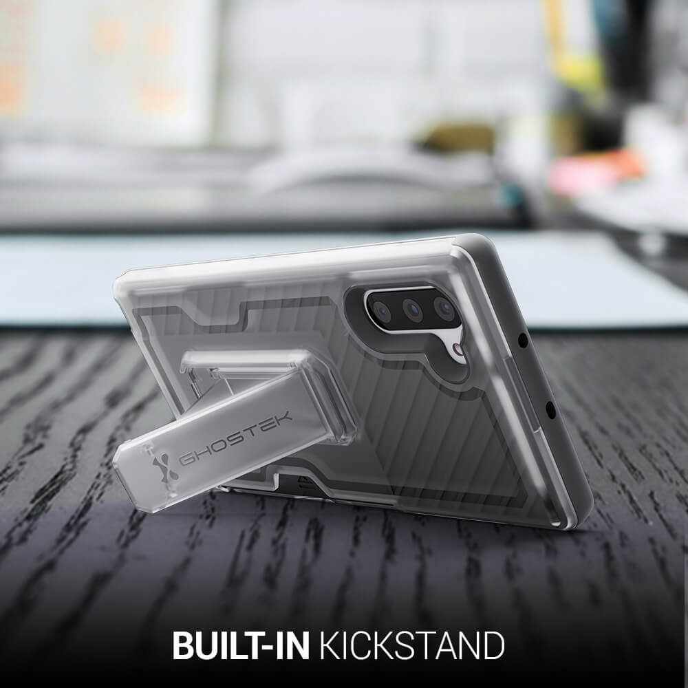 Note 10 Plus Belt Clip Case with Kickstand and Card Holder