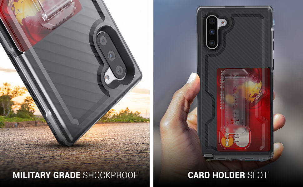 Galaxy Note 10 Plus Belt Clip Case With Cardholder