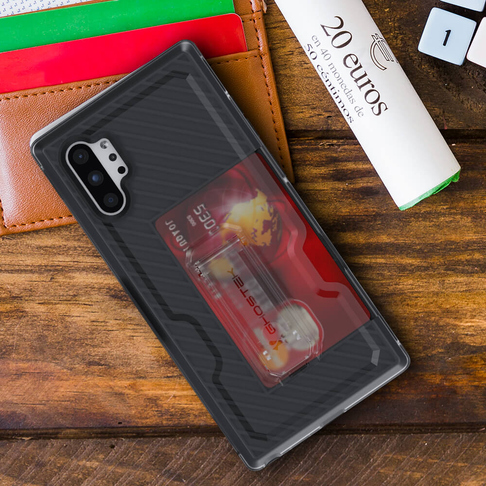 Galaxy Note 10 Plus Holster Case With Card Holder