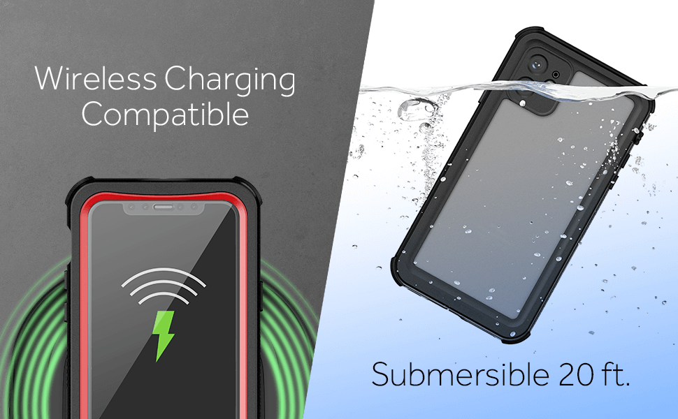 Shockproof iPhone 11 Wireless Charging Compatible
