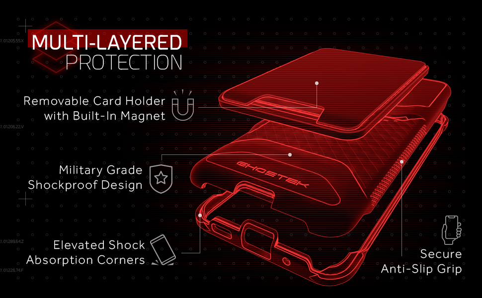 S20 Wallet Case with Card Holder and Magnet