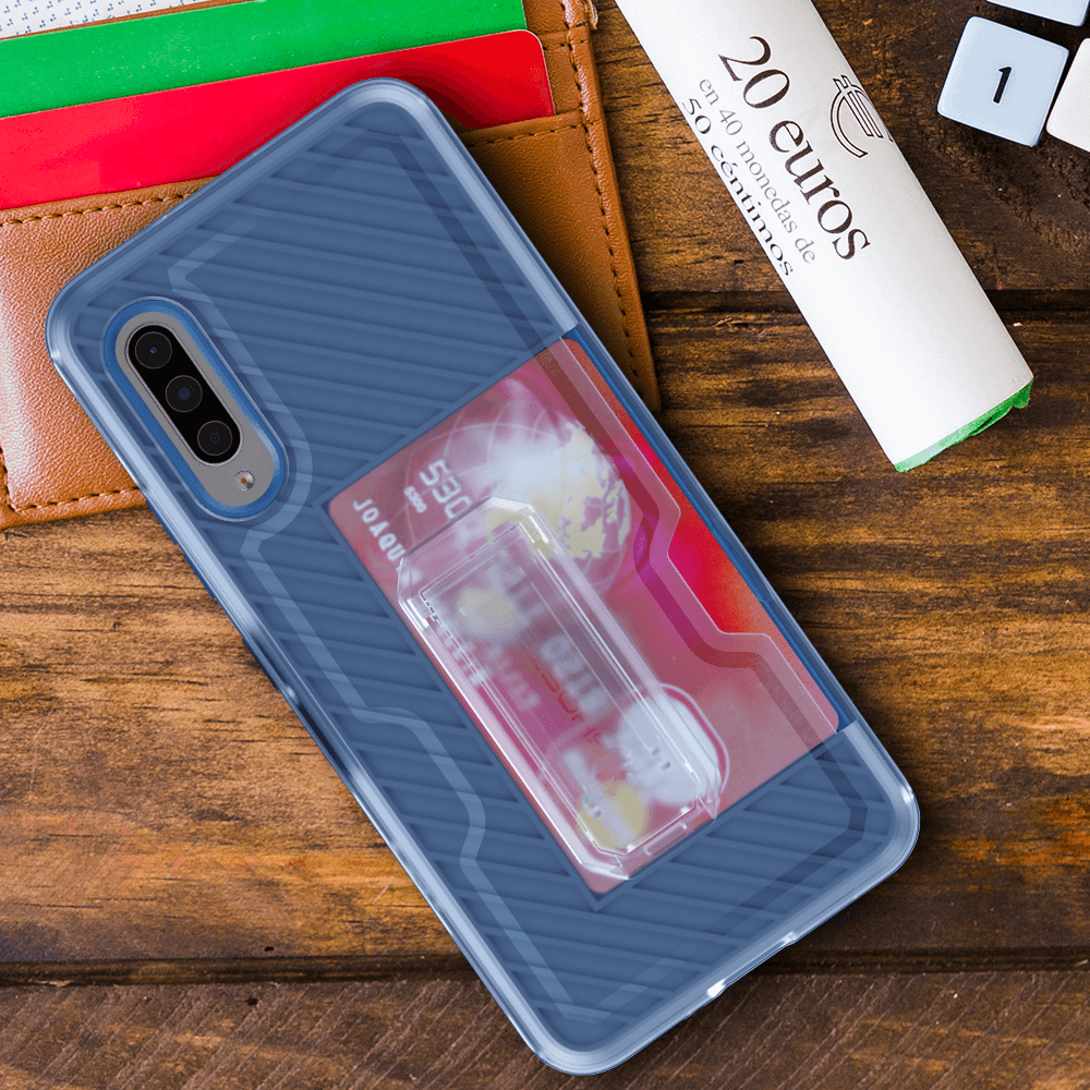Galaxy A90 5G Plus Belt Clip Case With Cardholder