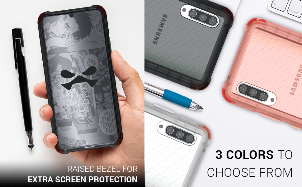 Galaxy A90 Clear Protective Phone Case