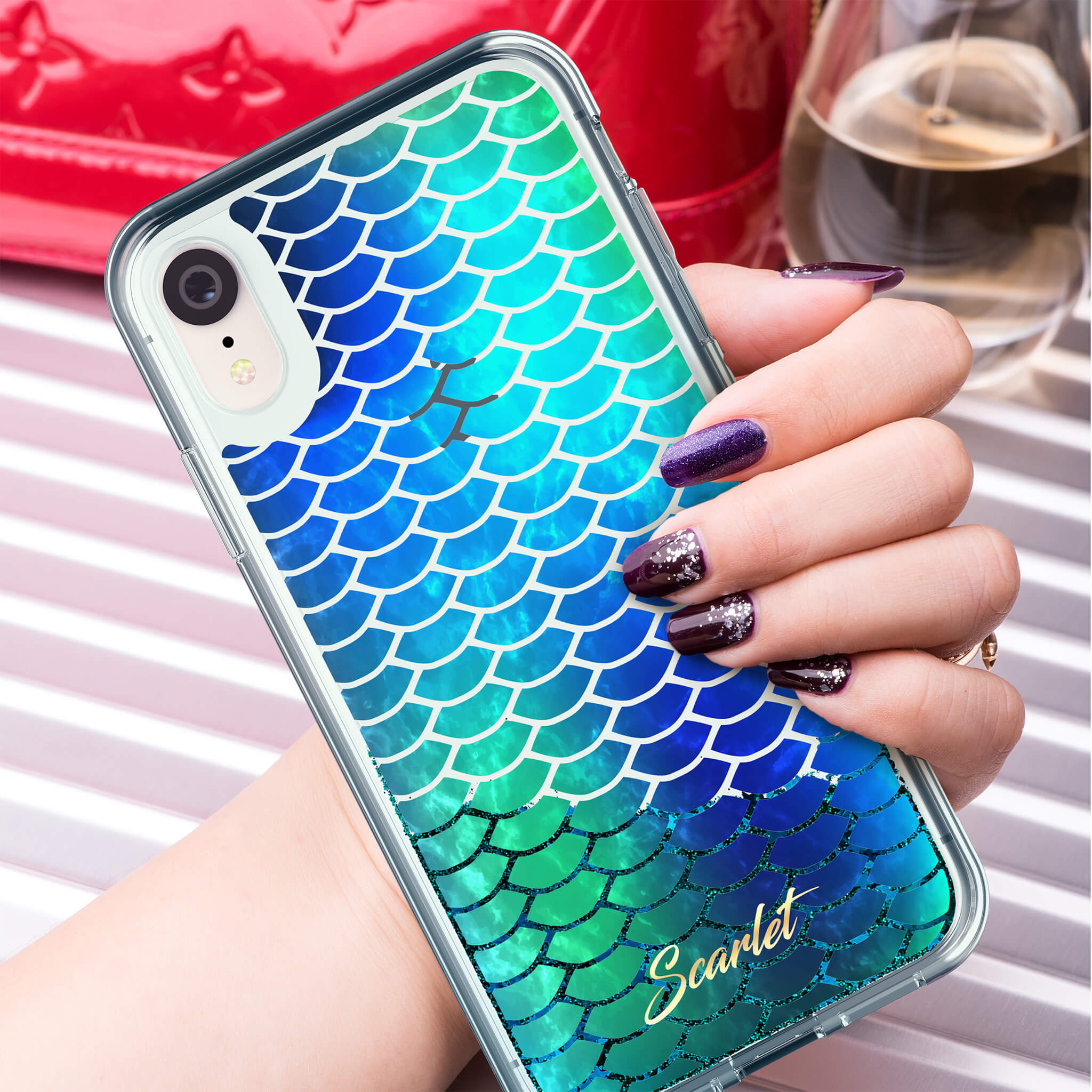 iPhone XR Stylish Case Design