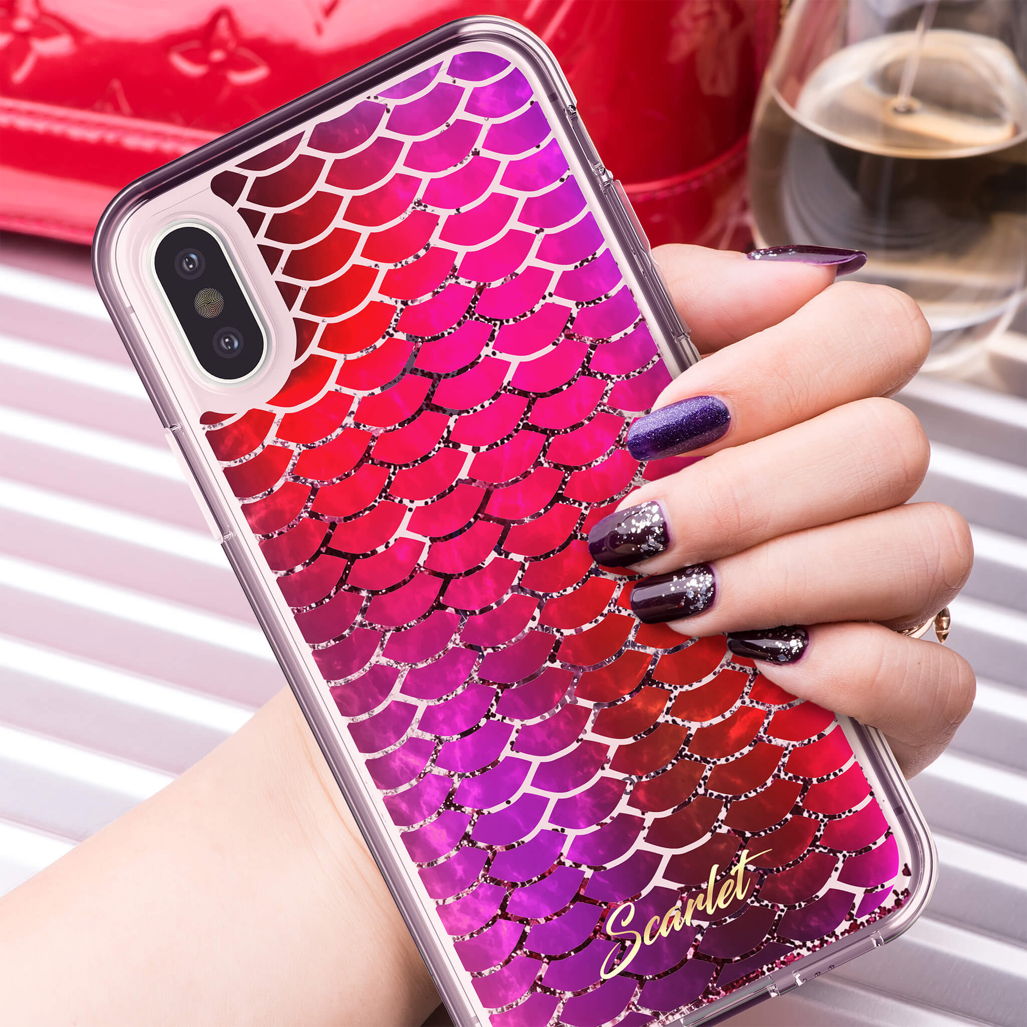 iPhone XS Max Stylish Case Design