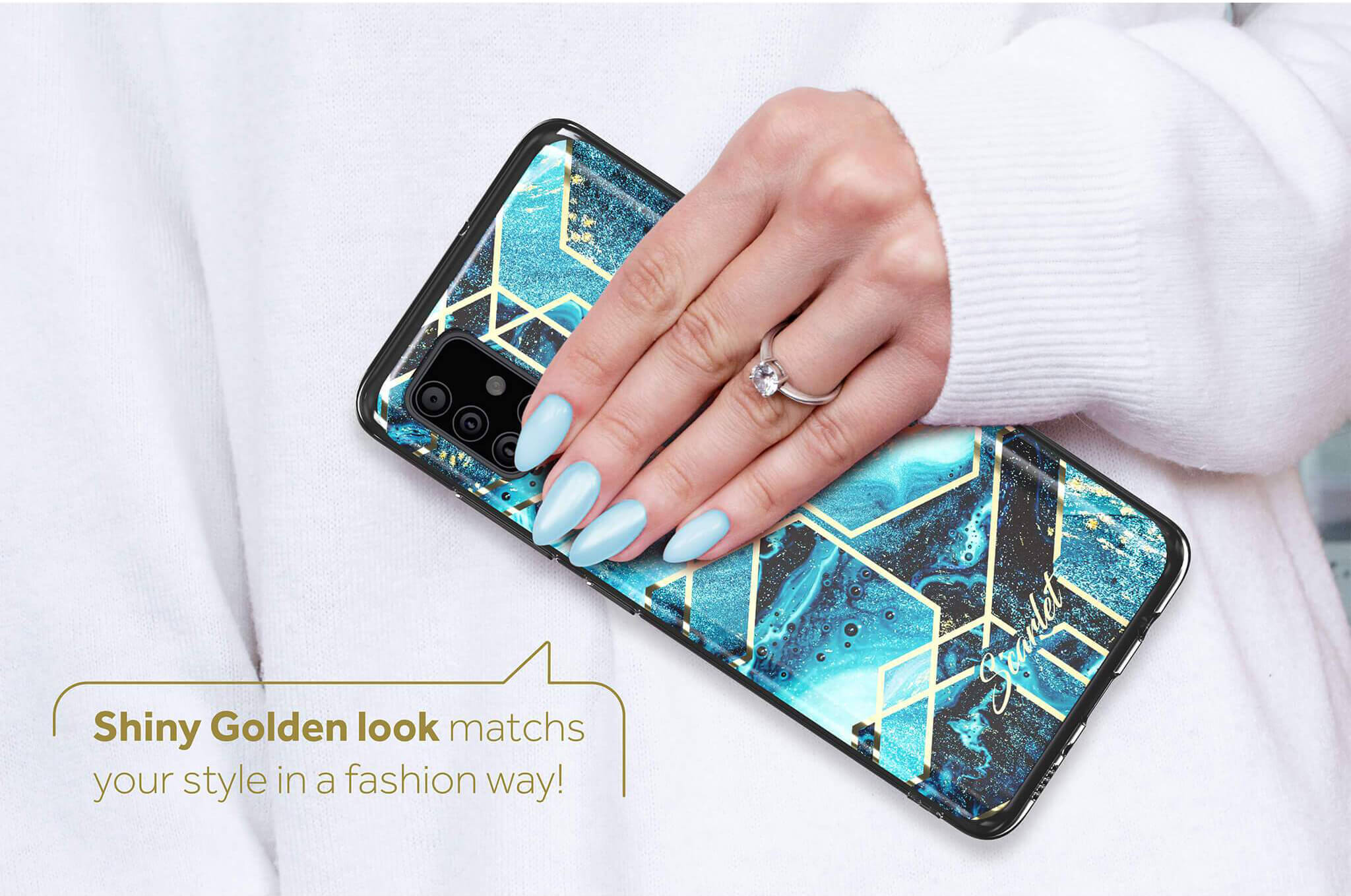 Galaxy A51 Stylish Case Design