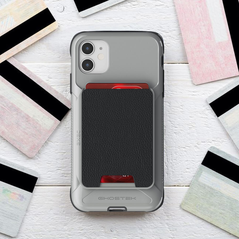 iPhone 11 Leather Wallet Case With Card Holder