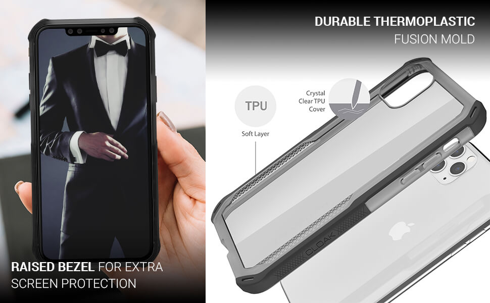 iPhone 11  Pro Max Clear Case With Design