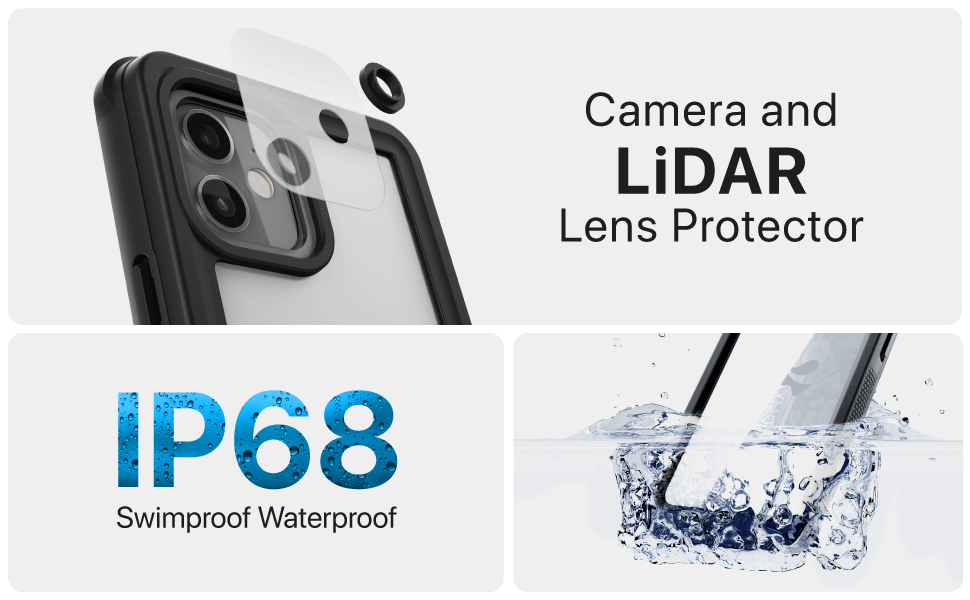 iPhone 12 Pro Waterproof Case