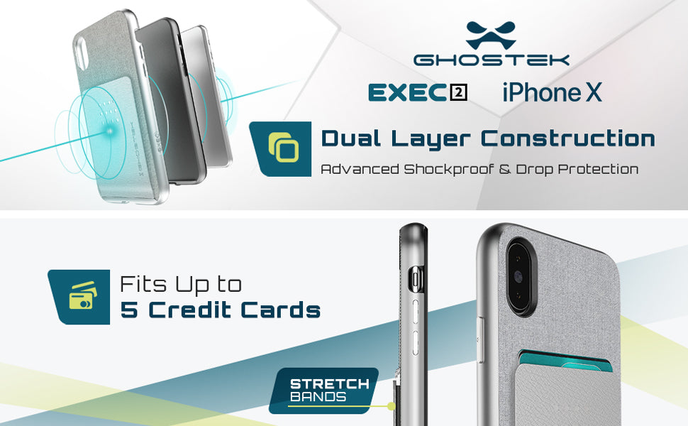 iPhone X Protective Wallet Phone Case
