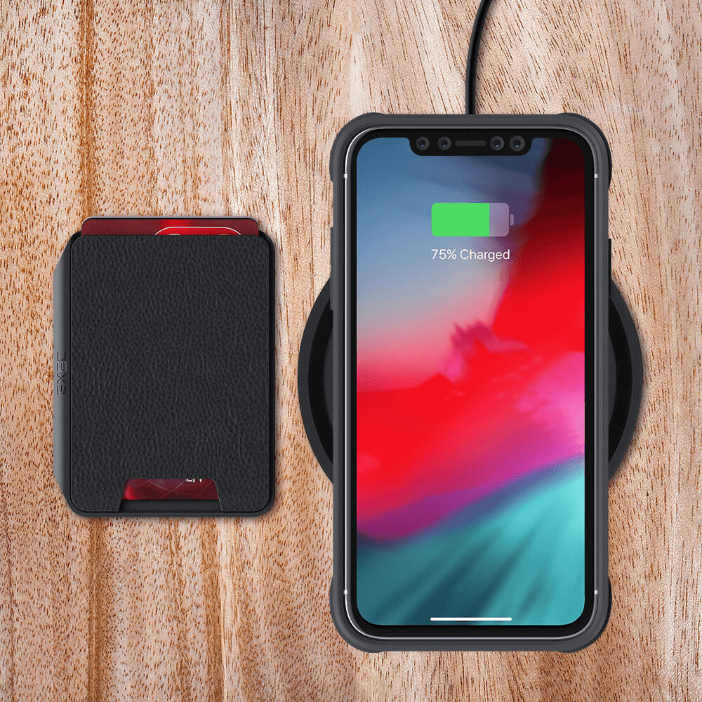 iPhone 11 Removable Wallet for Wireless Charging