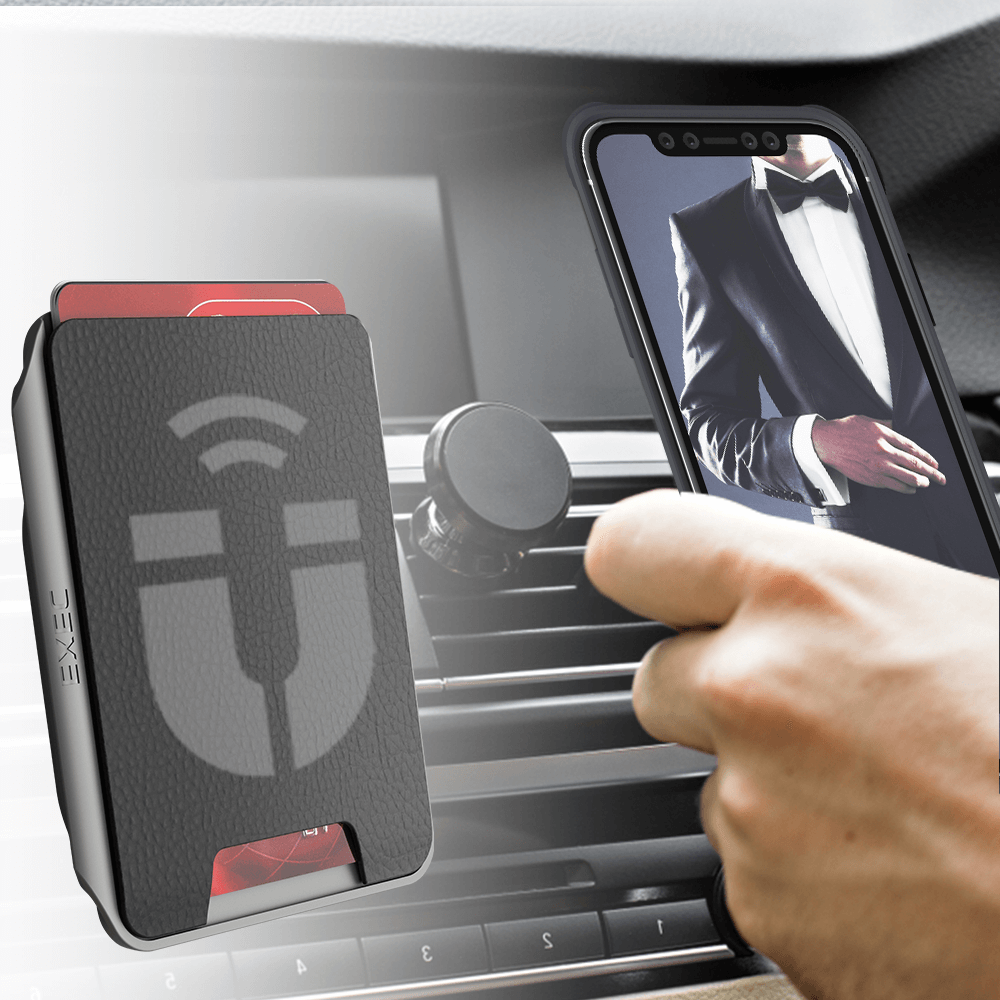 iPhone 11 Pro Magnetic Wireless Charging Card Holder