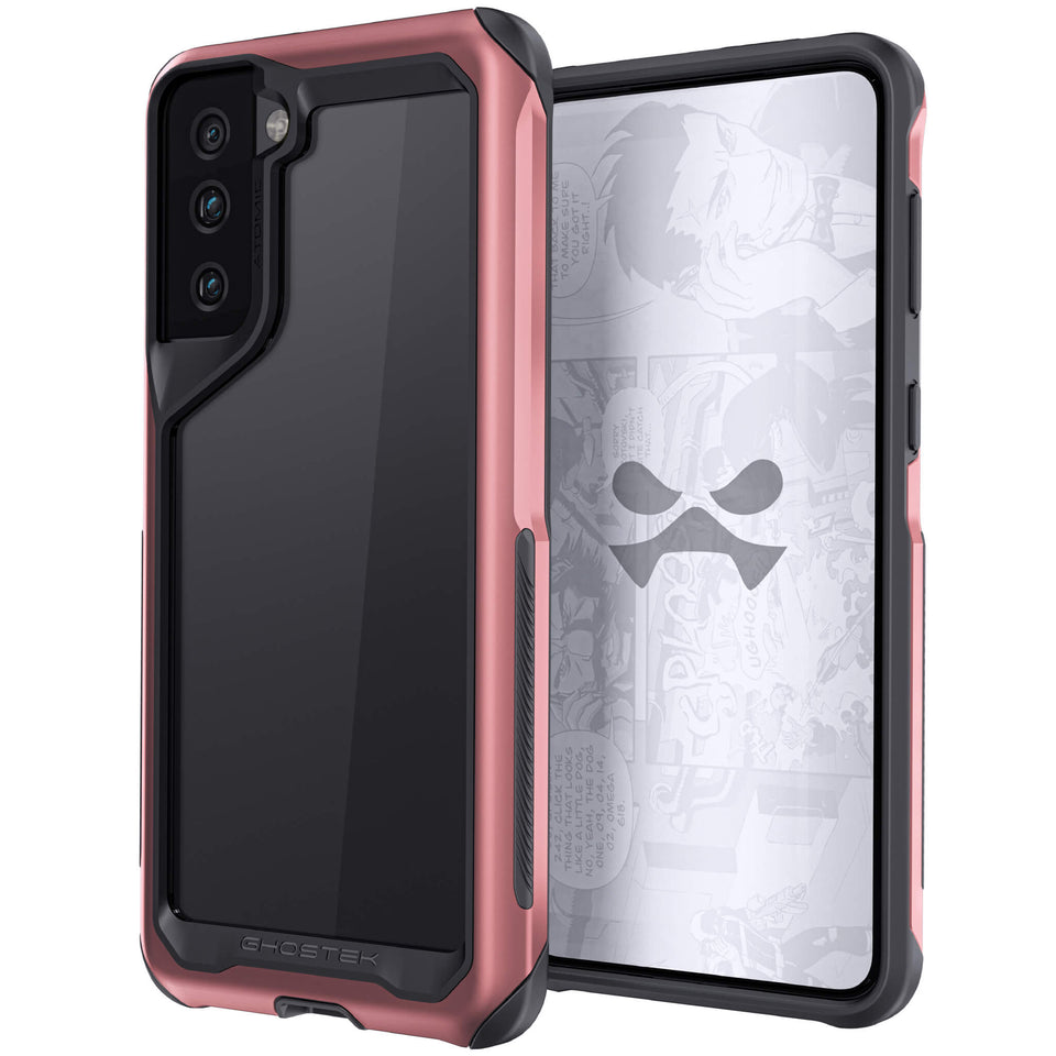 Galaxy S21+ 5G Phantom Pink Clear Case