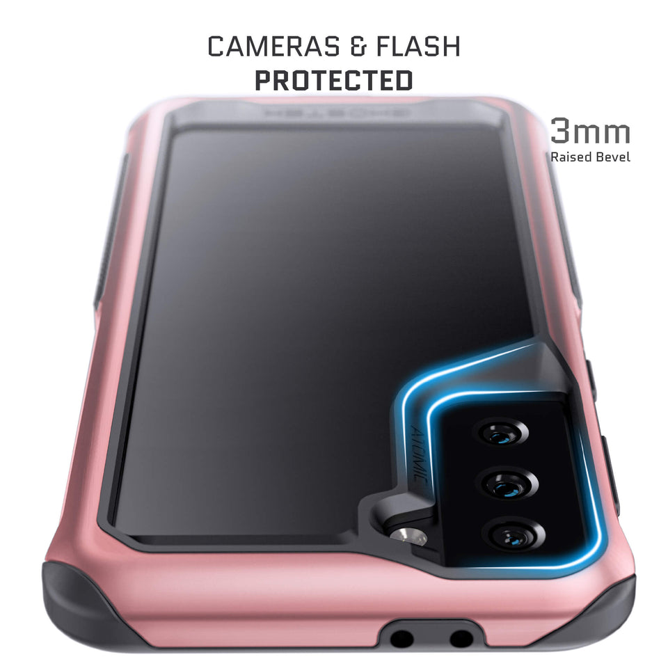 Galaxy S21 Plus Phantom Pink Metal Case