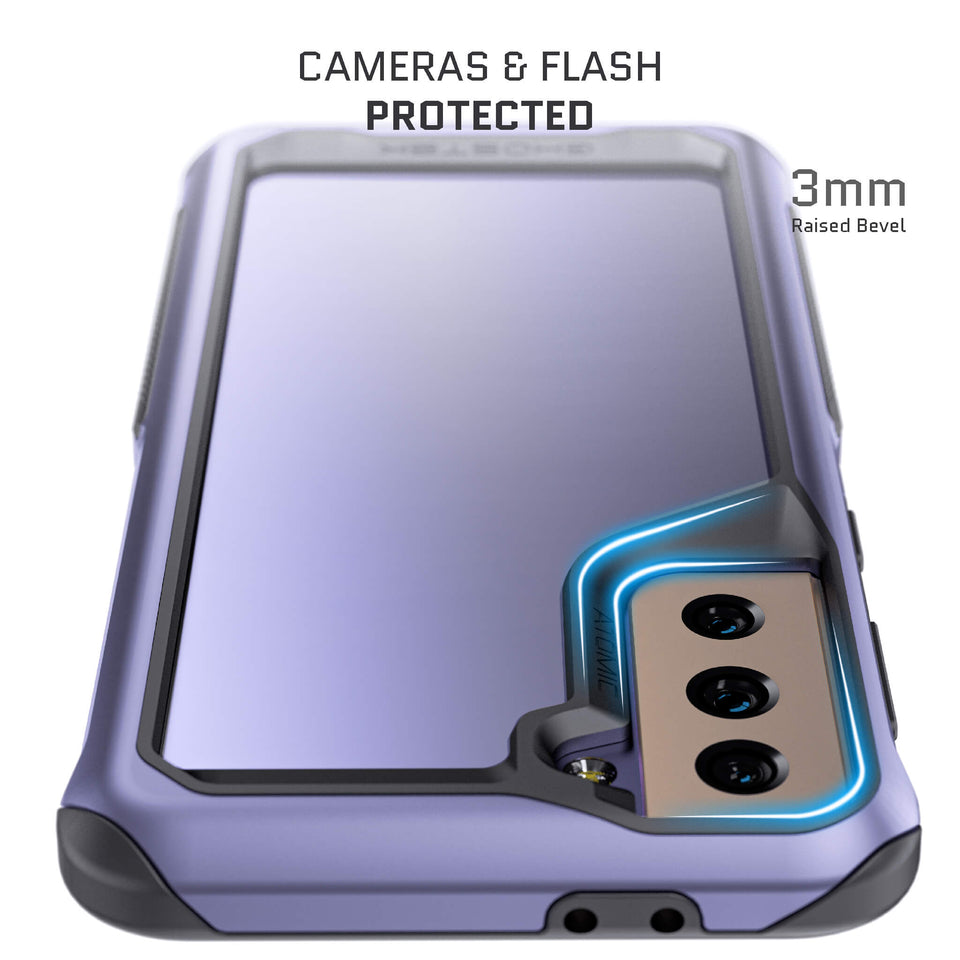 Galaxy S21 Plus Phantom Violet Metal Case