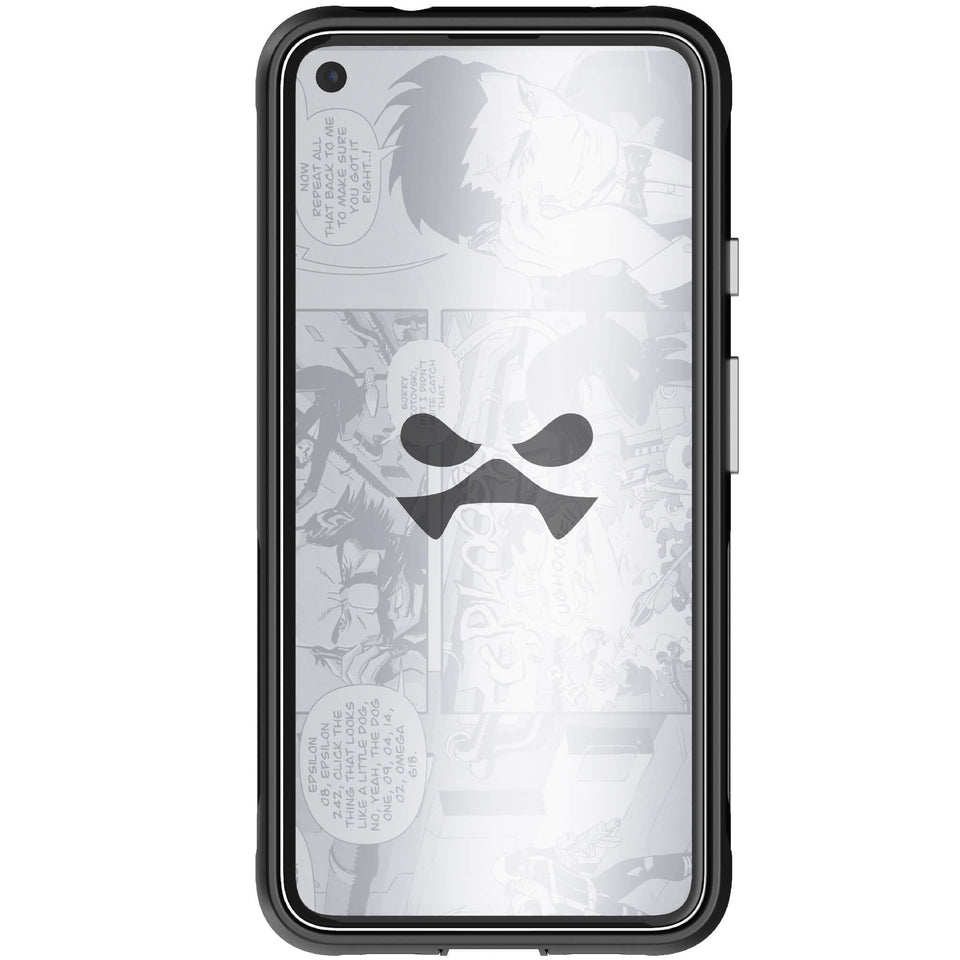 Pixel 4a 5G Black Metal Phone Case