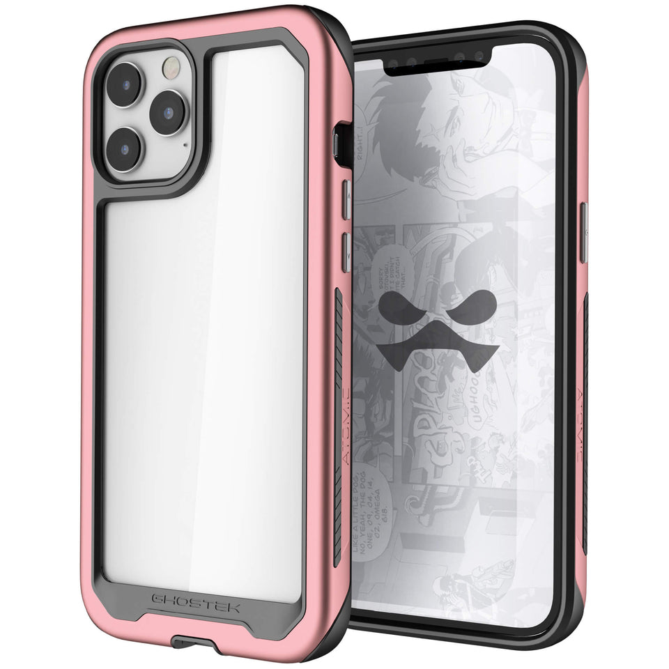 iPhone 12 Pro Pink Protective Phone Cases and Covers