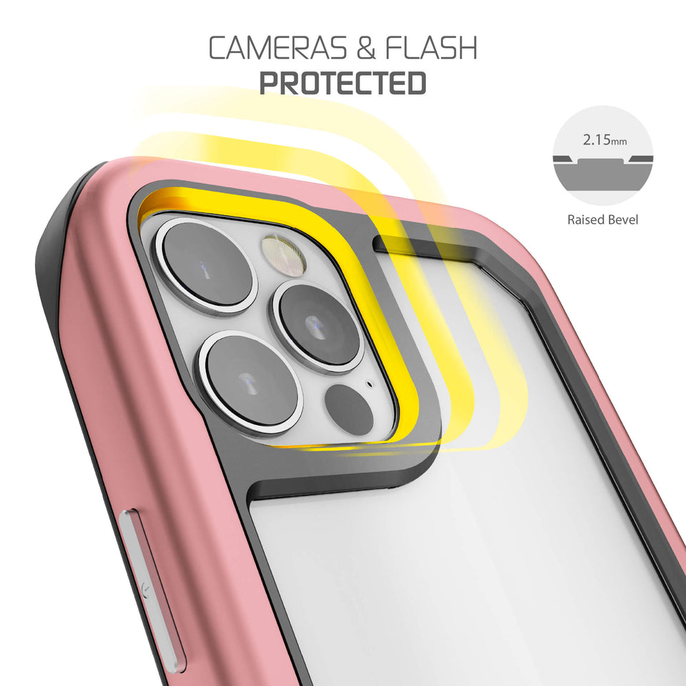 iPhone 12 Pro Pink Protective Case