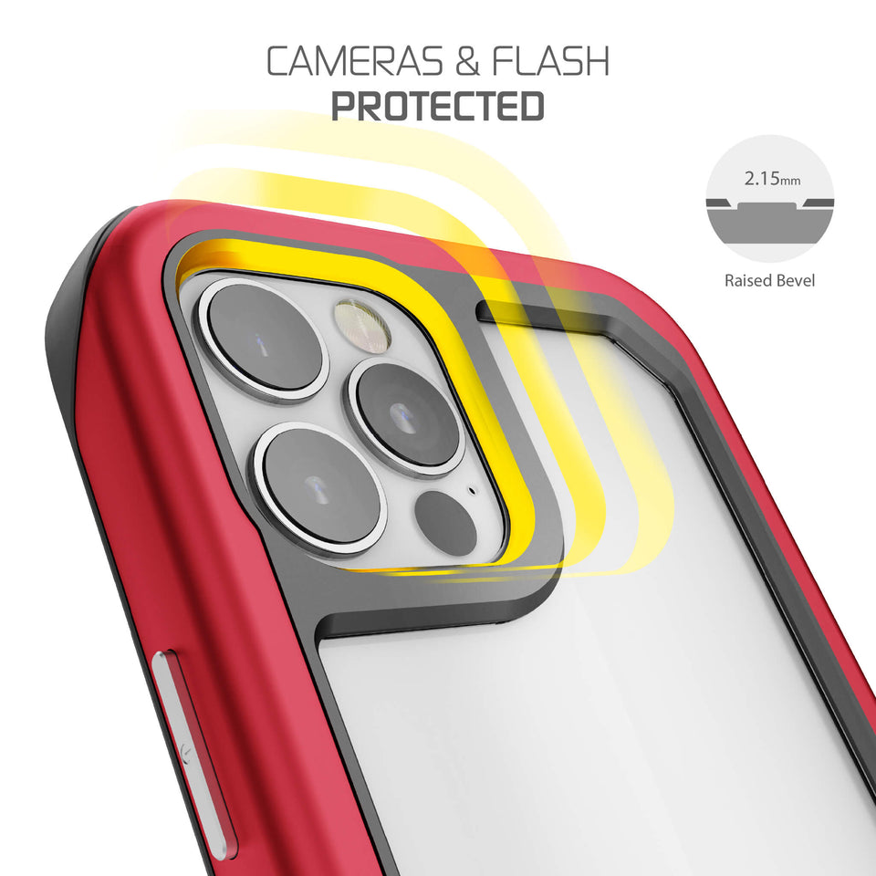 iPhone 12 Pro Red Protective Case