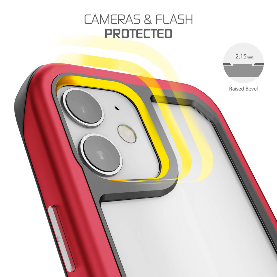 iPhone 12 Red Protective Case