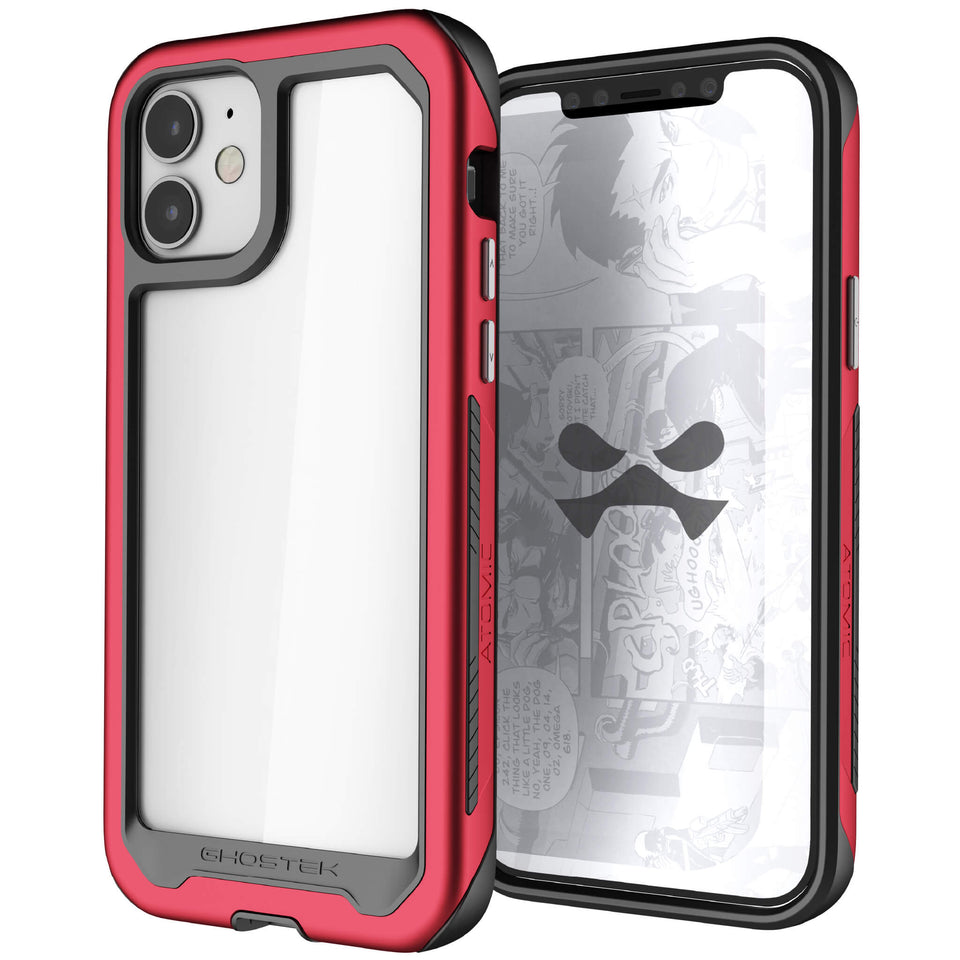 iPhone 12 Mini Red Protective Mobile Covers