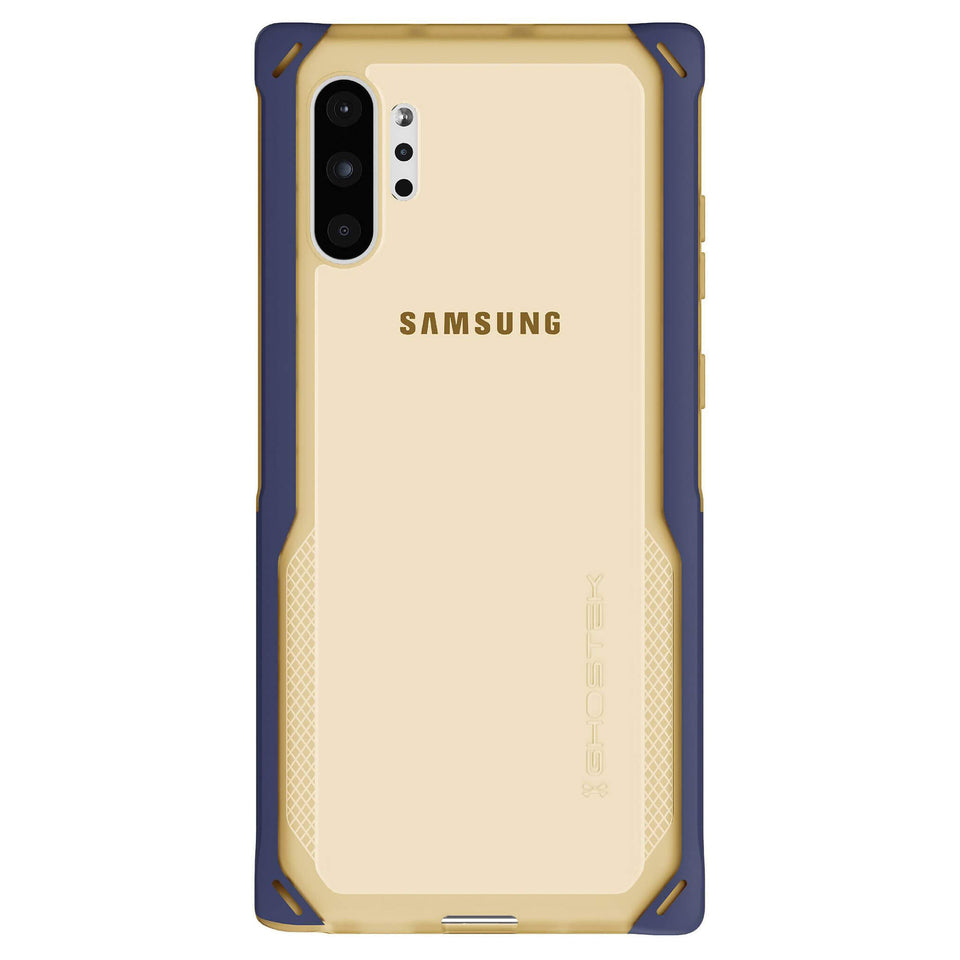 Galaxy Note 10 Plus Blue Gold Case