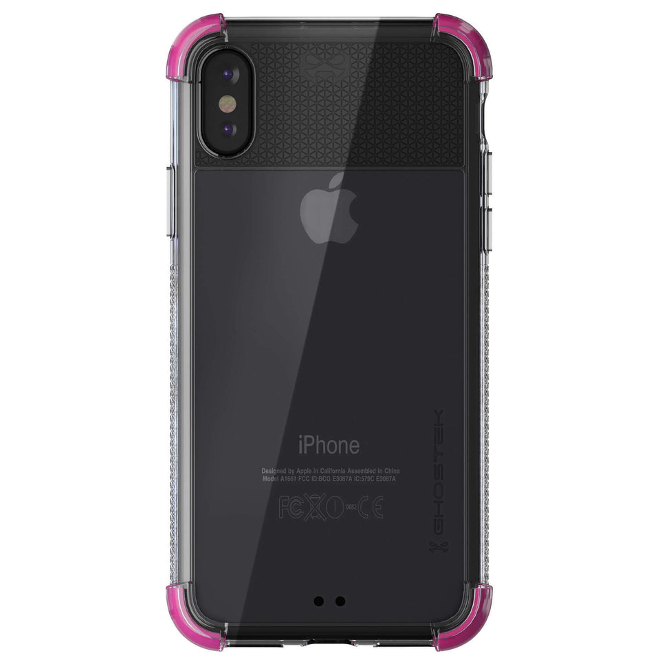 iPhone XR Pink Clear Phone Case