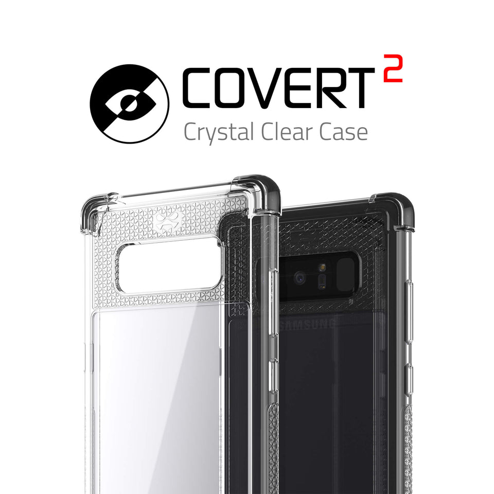 Galaxy Note 8 Clear Black Case