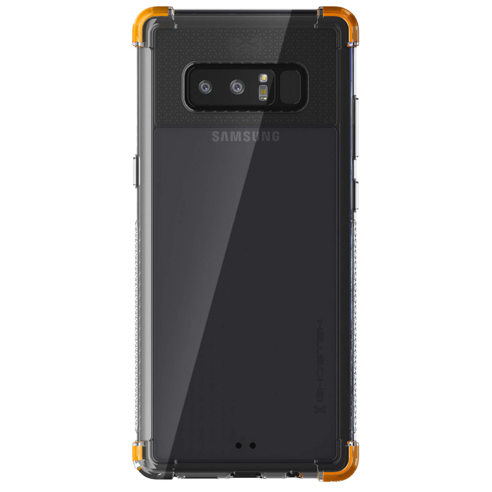 Galaxy Note 8 Clear Orange Case