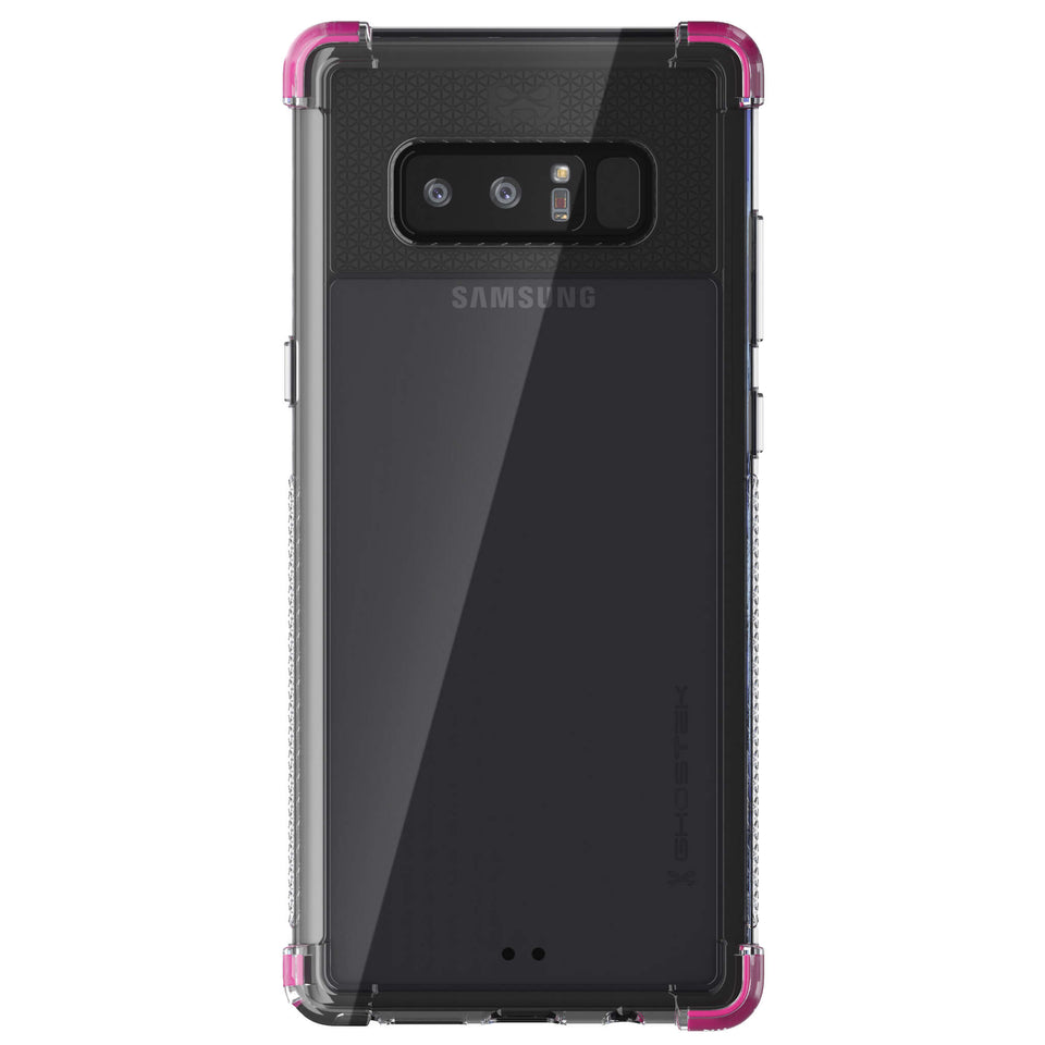 Galaxy Note 8 Clear Pink Case