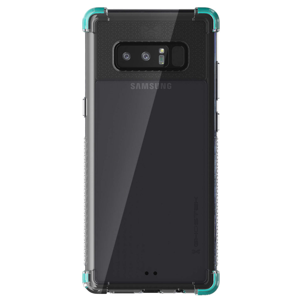 Galaxy Note 8 Clear Teal Case