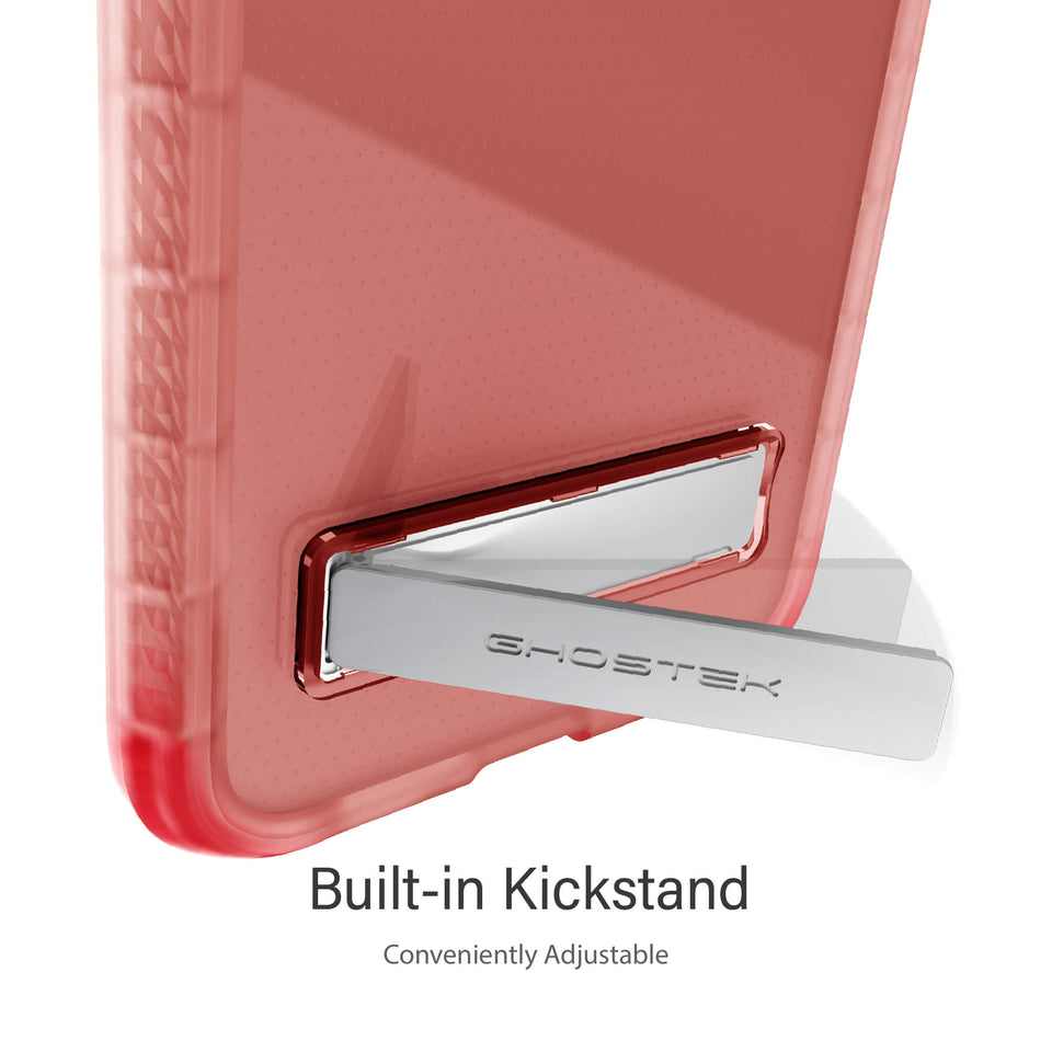 iPhone 12 Clear Pink Kickstand Cases