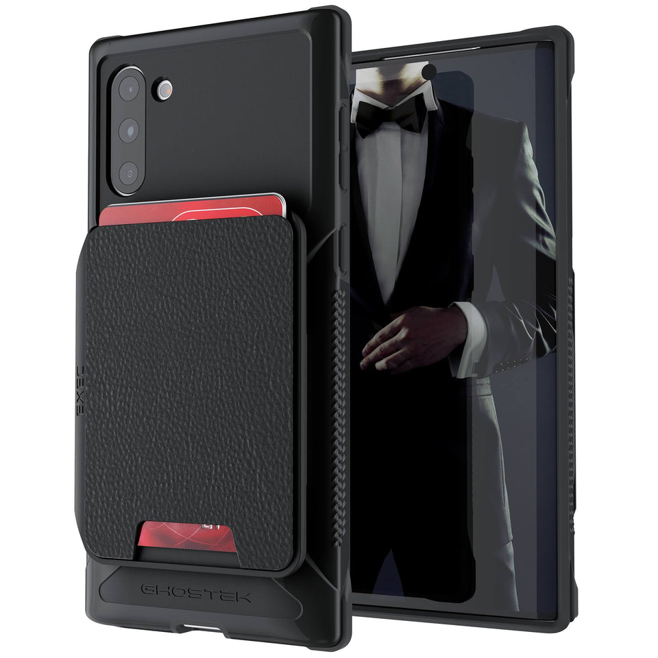Galaxy Note 10 Black Wallet Case